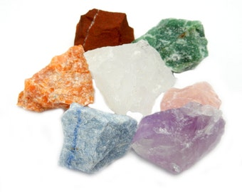 Assorted Natural Healing Stones -- Chakra - Reiki - Metaphysical - Jewelry Supply - Collecting (RK57B3)