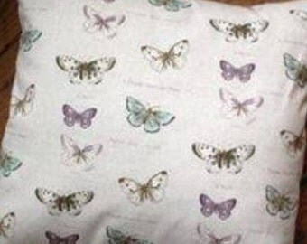 Vintage Butterfly Print Cushion Cover