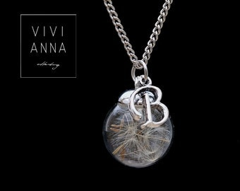 be free - silver necklace + request letter K334