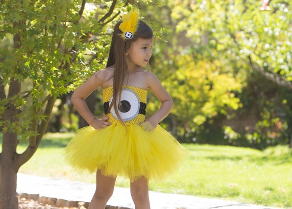 Minion Tutu Dress available via OhMyTutuCuteByDeanna