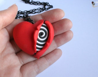 Necklace I love Tim Burton.