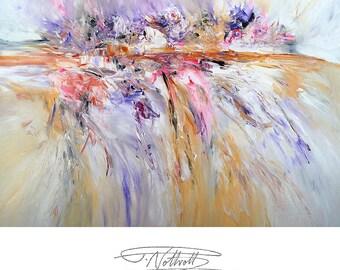 "63.1 "" x 43.4 "". Large Abstract Painting Original XL Acrylic on Canvas Modern Art. Abstraktes Gemälde. Artist Peter Nottrott."