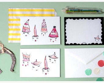 Hat Party Card Set