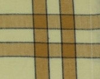 Tea Towel - Pumpkin on Cream with Black Stripe