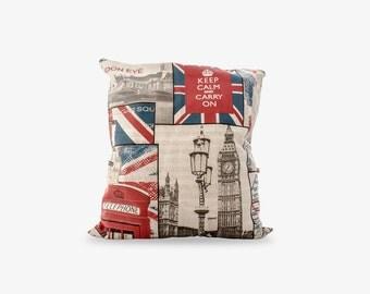 """Cushion cover """"London"""" 50x50cm"""