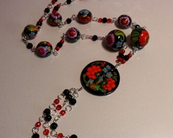 Beads bright colors
