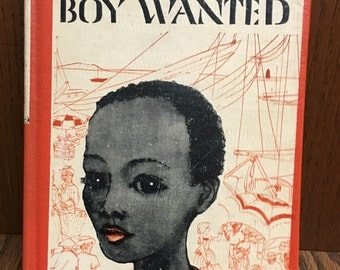 Boy Wanted by Ruth Fenisong, Nassau children, Calypso Dialogue, Piper Island, Run Away Child, Child Neglect, Child Abuse, Library Copy