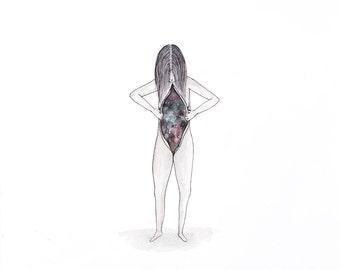 "Inner Space - 12 x 14"" Giclée Fine Art Print"