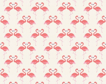 Flamingo Love Photo Backdrop