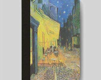 iPad Folio Case, iPad Air Case, iPad Air 2 Case, iPad 1 Case, iPad 2 Case, iPad 3 Case, iPad Mini - Café Terrace at Night Vincent Van Gogh