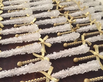 Bling Rock Candy Crystal Sticks