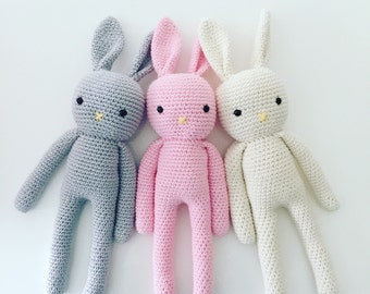 Amigurumi Bunny Crochet Bunny Handmade Bunny Crochet Toy Newborn Gift Child Gift Baby Shower Gift Plush Toy Amigurumi Rabbit, Newborn Prop