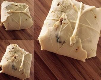 Calendula and orange goat milk soap