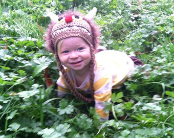Wild Things Monster Crocheted Hat