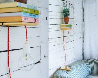 Invisible Book Shelf Pendant Light