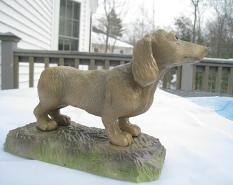 Dachshund Female Woodcarving