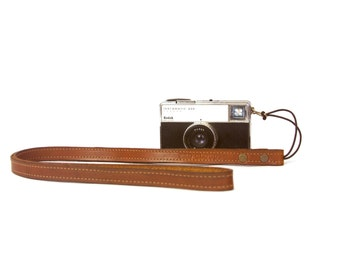 Leather Point and Shoot Camera Strap