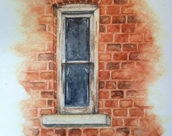 Empty Window Art Print (8X10)