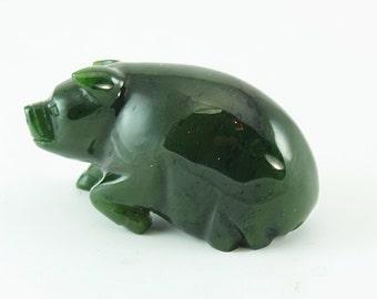 Hand Carved  Pigs,Jade Pigs,Jade Pigs in Vintage,Carved jade Pigs,Hand Carved Jade Pigs,Jade Pigs in Antique,Nephrite Jade Pigs
