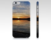 Phone Case Unique, Lake Picture Phone Case, iPhone 7 Case, Minnesota Gifts for Him, iPhone 6 Case, Samsung Case, Cell Phone Cover