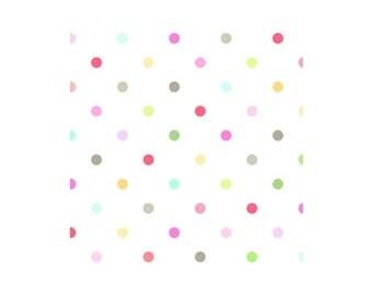 Sunrise Studio II - Fog Dots (14031-FOG) Lakehouse Dry Goods Fabric Yardage