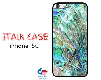 iPhone 5C Case iPhone 5C Phone Case Custom iPhone 5C Skin for iPhone 5C Cover iPhone Protective Case iPhone 5C Abalone Shell Case