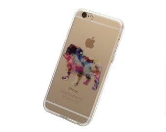 English Bulldog Phone Case for iPhone 5, SE, 6, 6 Plus, 7, 7Plus, 8, 8 Plus and X. TPU or Wood Options