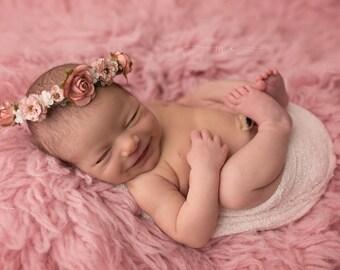 Newborn Flower Crown-- Newborn Halo