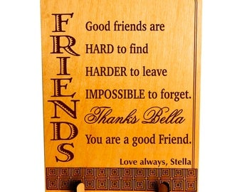 Personalized Friends Appreciation Custom Giftfriend Like A