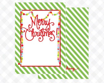 Garland Topiary Gift Tag (Qty 5)