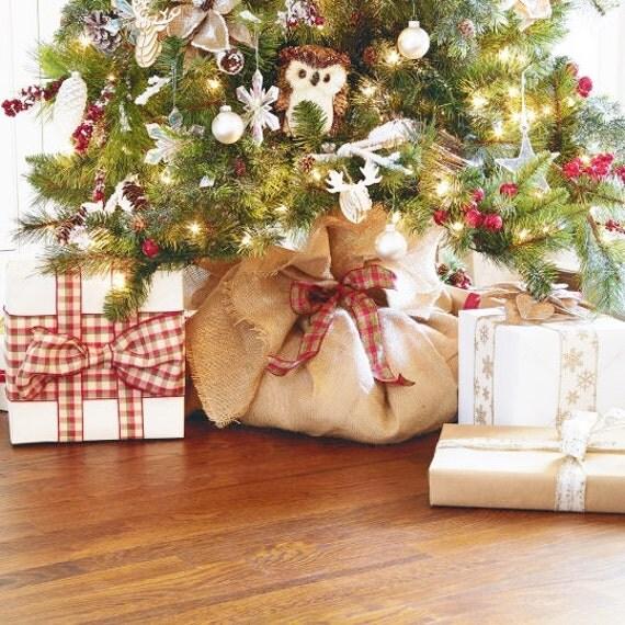 Burlap And Red Christmas Tree: Christmas Tree Wrap Burlap Christmas Tree Wrap Burlap Tree