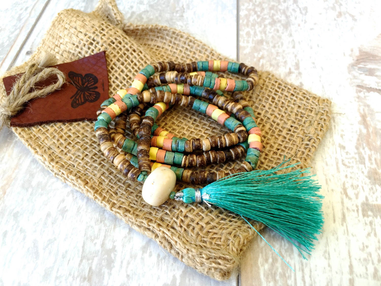 hippie schmuck beach jewelry b hmische collier yoga. Black Bedroom Furniture Sets. Home Design Ideas