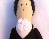 Hade Made Tally Ho! Soft Equestrian Rider Doll - Gwendolyn