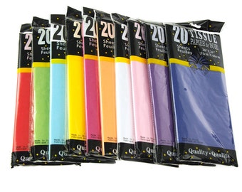 Art Tissue Paper, 20 Sheets, 20-inch x 26-inch