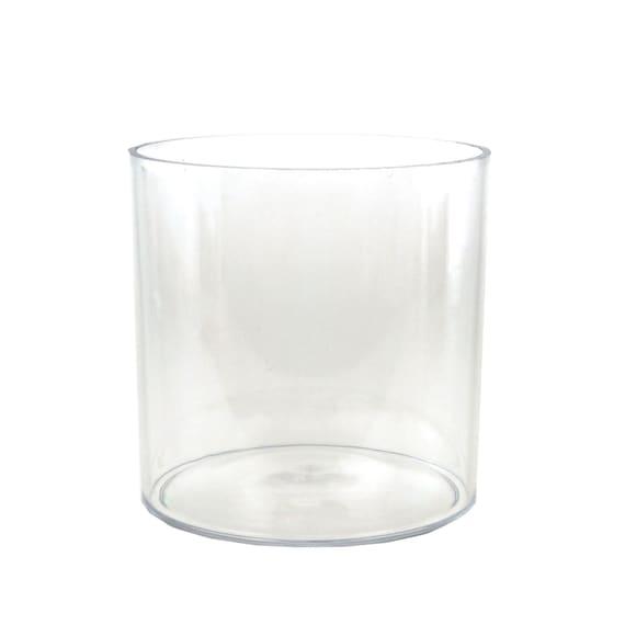 clear acrylic cylinder vase 6 inch. Black Bedroom Furniture Sets. Home Design Ideas