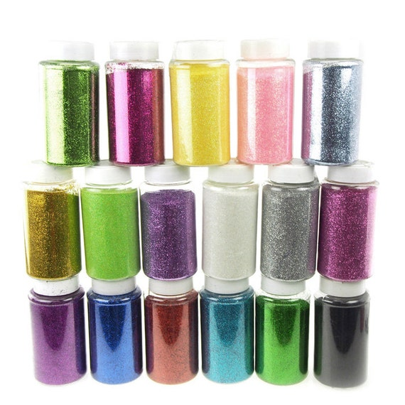 Fine glitter arts and crafts 1 pound for Arts and crafts glitter
