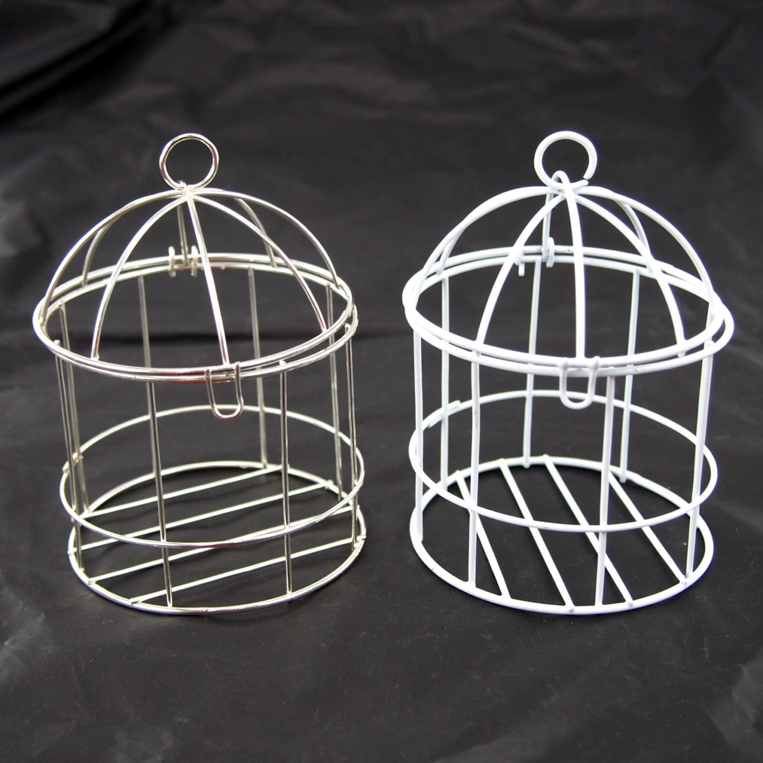 Mini Metal Wire Bird Cage 4-inch