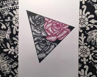 Rose Trio Print