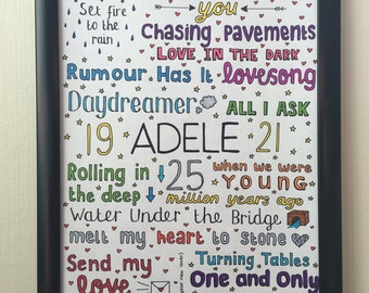 ADELE COLLAGE // greatest hits