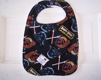 Star Wars and Angry Birds Toddler Bib! FREE SHIPPING!!!!!!