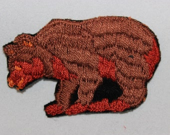 Grizzley Bear Patch