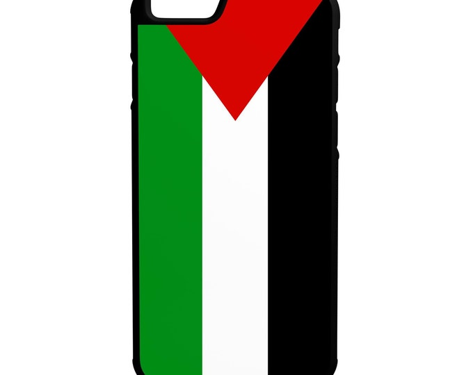 Flag of Palestine iPhone Galaxy Note LG HTC Hybrid Rubber Protective Case Palestinian State Flag
