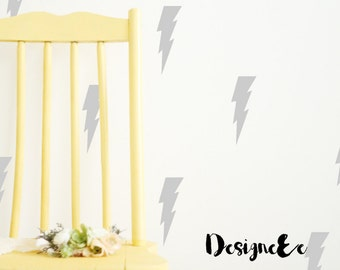 "Wall Stickers - 5.5"" Lightning Bolts"