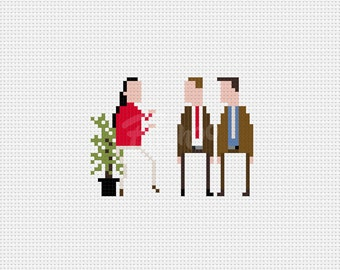 Spaghett!  Tim and Eric Awesome Show  - Cross Stitch Pattern (PDF) - INSTANT DOWNLOAD