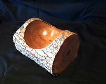 Yule Log Bowl