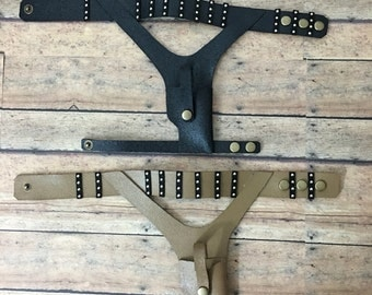 Doll BJD SD17 gun holster belt