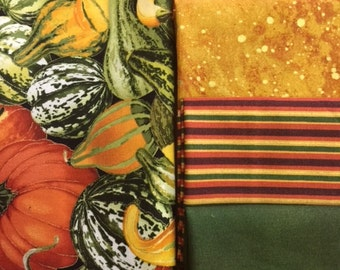 Fall / Gourd Fat Quarter Bundle (5)