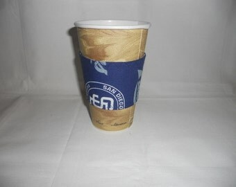 San Diego Padres Coffee Cup Cozy