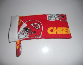 Kansas City Chiefs -  Reading Glasses Case - Quilted Fully Lined
