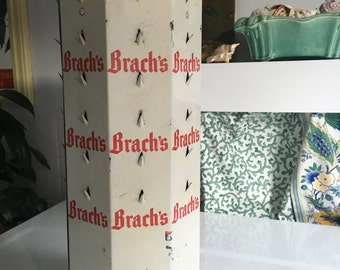 Vintage Brach's Tin Candy Display